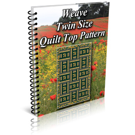 Weave Twin Size Quilt Top Pattern | Other Files | Patterns and Templates