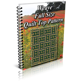 Weave Full Size Quilt Top Pattern | Other Files | Patterns and Templates