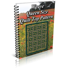Weave Queen Size Quilt Top Pattern | Other Files | Patterns and Templates