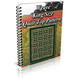 Weave King Size Quilt Top Pattern | Other Files | Patterns and Templates