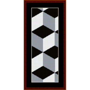 Fractal 308 Bookmark cross stitch pattern by Cross Stitch Collectibles | Crafting | Cross-Stitch | Other