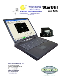 NavCom StarUtil User Guide | Documents and Forms | Manuals
