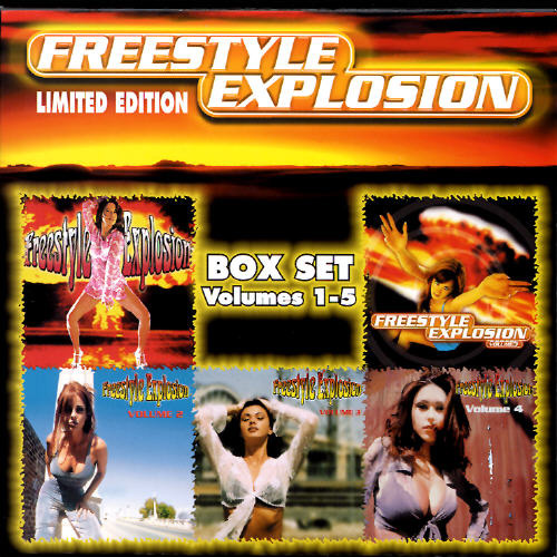 First Additional product image for - FREESTYLE EXPLOSION, VOL. 1-5 Various Artists (2000) (THUMP RECORDS) (62 TRACKS) 320 Kbps MP3 ALBUM