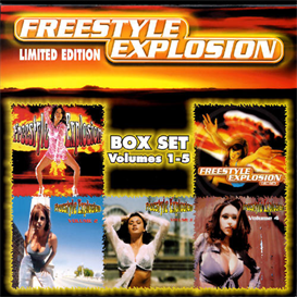 FREESTYLE EXPLOSION, VOL. 1-5 Various Artists (2000) (THUMP RECORDS) (62 TRACKS) 320 Kbps MP3 ALBUM | Music | Dance and Techno