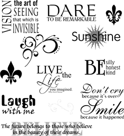 Inspirational Words - Page 5 - Machine Embroidery File | Crafting | Sewing | Other