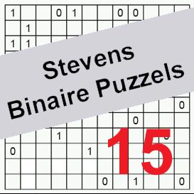 binaire puzzels 15