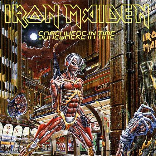 First Additional product image for - IRON MAIDEN Somewhere In Time (1995) (CASTLE RECORDS) (8 TRACKS) 320 Kbps MP3 ALBUM