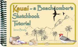 Kauai ~ A Beachcomber's Sketchbook Tutorial | eBooks | Travel
