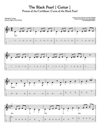 The Black Pearl GUITAR TAB | Other Files | Everything Else