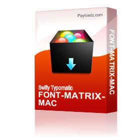 Font-Matrix-Mac | Other Files | Fonts