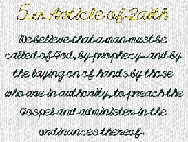lds articles of faith 2