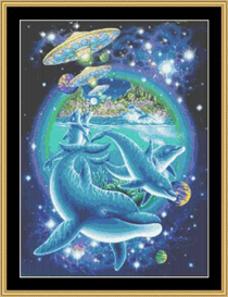 Dolphin Connection | Crafting | Cross-Stitch | Other