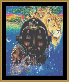 Masai Dreams | Crafting | Cross-Stitch | Other