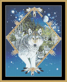 Wolf Song | Crafting | Cross-Stitch | Other