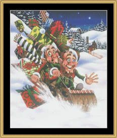 Mad Dash To Christmas | Crafting | Cross-Stitch | Other