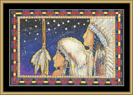 Native American | Crafting | Cross-Stitch | Other
