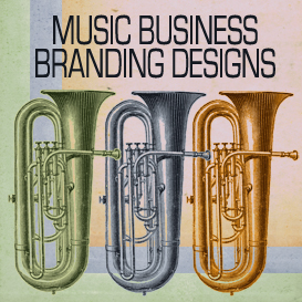 big horn music designs business branding