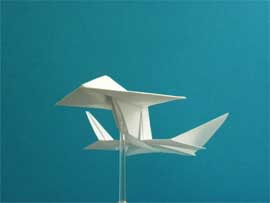 origami starship phoenix tutorial video