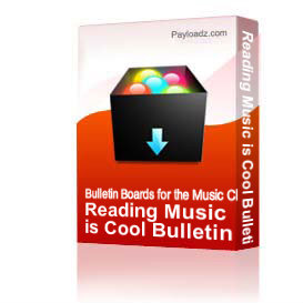 Reading Music is Cool Bulletin Board Kit | Other Files | Patterns and Templates
