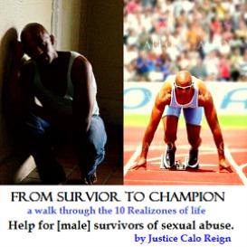 Survivor to Champion: Help for [male] survivors of sexual abuse (Value $75)