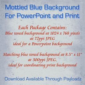 mottled blue grey powerpoint and print templates