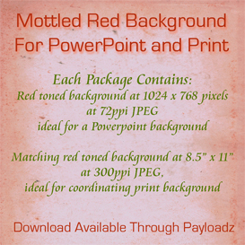 mottled brick red background for powerpoint and print