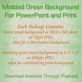 mottled kelly green background for powerpoint and print