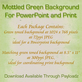 mottled pale green background for powerpoint and print
