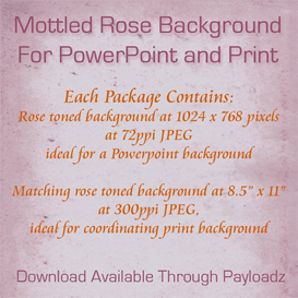 mottled old rose background for powerpoint and print
