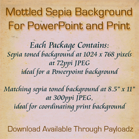 mottled sepia background for powerpoint and print