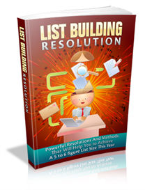 List Building Resolution | eBooks | Internet
