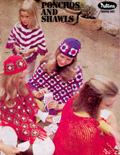 Ponchos and Shawls - Adobe .pdf Format | eBooks | Arts and Crafts