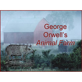 animal farm common-core aligned activity bundle with asessments and graphic organizer