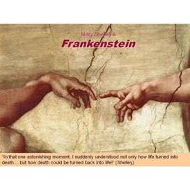 Frankenstein Common-Core Aligned Activity Bundle With Asessments and Graphic Organizer | Documents and Forms | Presentations
