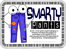 Smarty Pants Certificate | Other Files | Patterns and Templates
