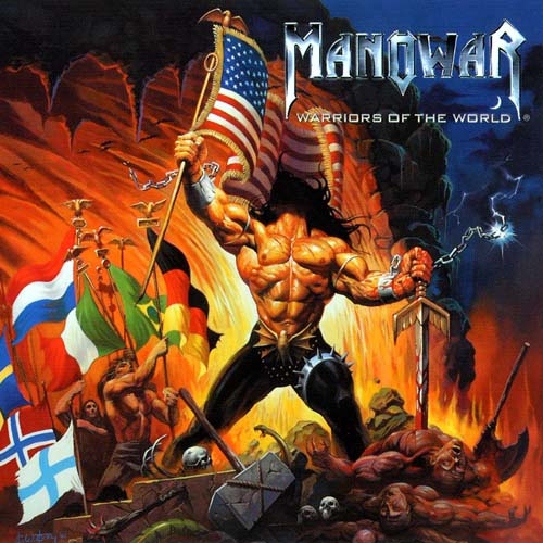 First Additional product image for - MANOWAR Warriors Of The World (2002) (METAL BLADE RECORDS) (11 TRACKS) 320 Kbps MP3 ALBUM