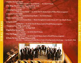 Jubal Brass CD - Download   Music   Classical