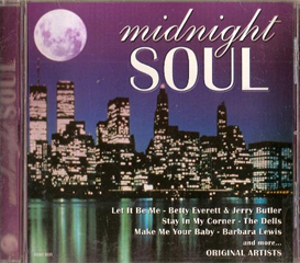 MIDNIGHT SOUL Various Artists (2000) (MADACY ENTERTAINMENT) (10 TRACKS) 320 Kbps MP3 ALBUM | Music | R & B
