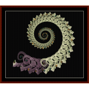 Fractal 314 cross stitch pattern by Cross Stitch Collectibles   Crafting   Cross-Stitch   Wall Hangings