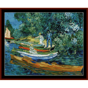 Rowing Boats - Van Gogh cross stitch pattern by Cross Stitch Collectibles | Crafting | Cross-Stitch | Other