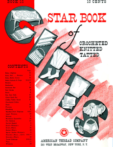 Star Book of Crocheted, Knitted, Tatted - Adobe .pdf Format | eBooks | Arts and Crafts