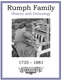 Rumph Family History and Genealogy | eBooks | History