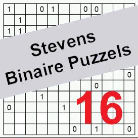 binaire puzzels 16