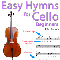 jesus loves me - easy cello