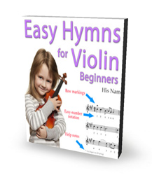 Ten Easy Hymns Collection For Violin - Sacred Sheet Music