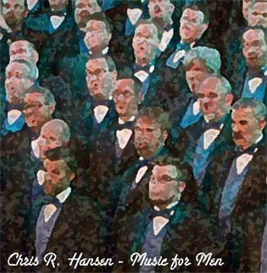 """Shine Jesus Shine from Chris R. Hansen's ""Music for Men - Men's Choral Arrangements"" Virtual CD"