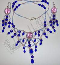 Masquerade Ball Necklace and Earrings Set | eBooks | Arts and Crafts
