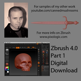 Zbrush 4.0 Training by Jason Welsh Part 1 | Movies and Videos | Educational