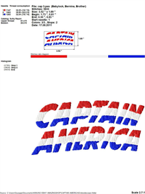 Captain America Embroidery Design | Crafting | Sewing | Other