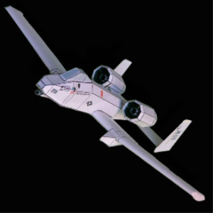 Paper A-10 Thunderbolt II | Crafting | Paper Crafting | Paper Models